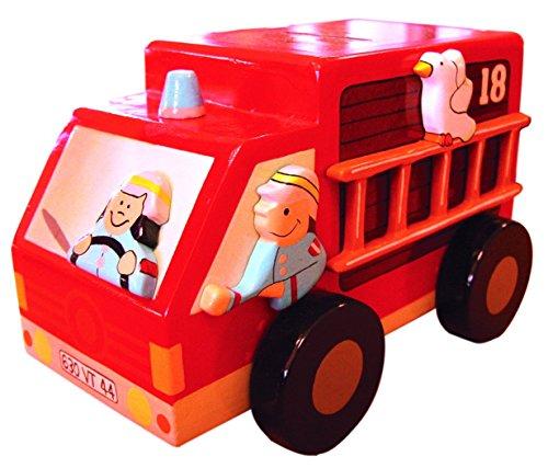 Le Coin des Enfants - 1002 - Tirelire Camion Pompier