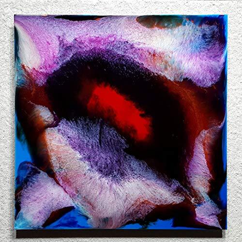 ORIGINAL Resin Kunst Harz Gemälde Abstrakte Malerei Bild Modern Art HANDGEMALT - hochglanz Wandbilder direkt vom Künstler F.H. - Wohnung Deko Wohnzimmer - Werksnummer: Re 041