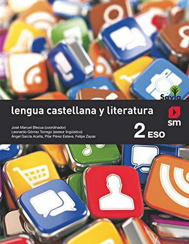 Lengua castellana literatura. 2 ESO. Savia - 9788467586794