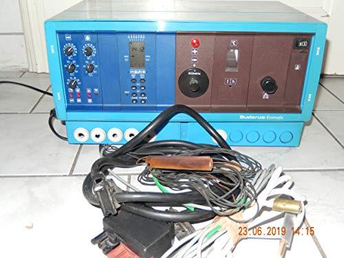 BUDERUS-Ecomatic HS3204 Heizungsregler mit Digitalschaltuhr und Kesselfühler, geprüft, ist 100% funktionsfähig