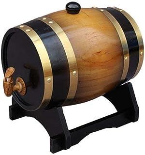 Baril De Boisson à La Bière En Chêne 5L Tonneau de chêne Tonneau de vin, Distributeur d'eau tonneau de vin, Cuisine de mén...