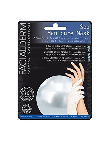 Facialderm Spa Manicure handschoenen handen en nagels saunaeffect, 2 stuks, 1 x 100 g