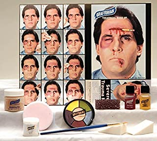 Graftobian Professional Severe Trauma Makeup Kit for Special Effects