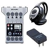 Zoom P4 Podtrak Podcast Recorder + BTA-2 Bluetooth + auriculares Keepdrum