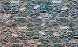 Achim Home Furnishings Gummimatte für den Außenbereich 30 Inlaid Stones