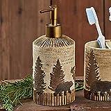 moose soap dispenser - BLACK FOREST DECOR Woodland Moose & Bear Lotion Pump