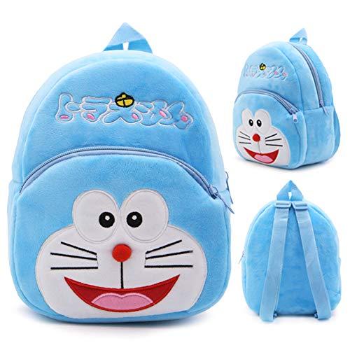 BAIBEI Kindergarten niños Mochila Escolar Kindergarten Mochila Zoo Lunch Bag 3D Mochila de Dibujos Animados Lindo Preescolar (Juguete de Gato (pequeño))