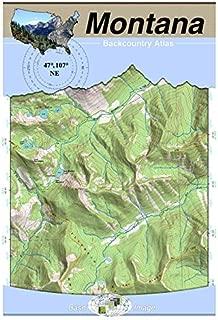 47°107° NE - Fort Peck Lake West, Montana Backcountry Atlas (Topo)
