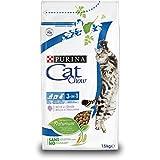 Purina Cat Chow Comida Seco para Gatos Adultos 3 en 1Rico en Pavo - 1.5 Kg