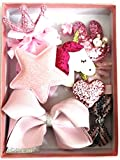 Cuty Kraft Lovely Baby Girl 11 pcs hair clip set with box