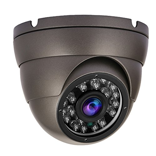 Anpviz CCTV Camera 1080P Surveillance Dome Camera Security Analog Camera 4-in-1 HD TVI/CVI/AHD /960H Outdoor Weather Proof IP66,Fixed Lens with 24pcs IR Led Day/Night Vision,(Default 1080P TVI Mode)