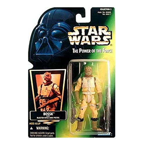 Hasbro Bossk Bounty Hunter Star Wars Power of the Force Collection Kenner
