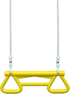 Big Backyard A24512 Yellow Acrobatic Swing with Soft Touch Rope