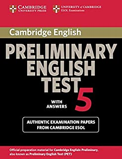 Cambridge Preliminary English Test 5: Student's Book with answers