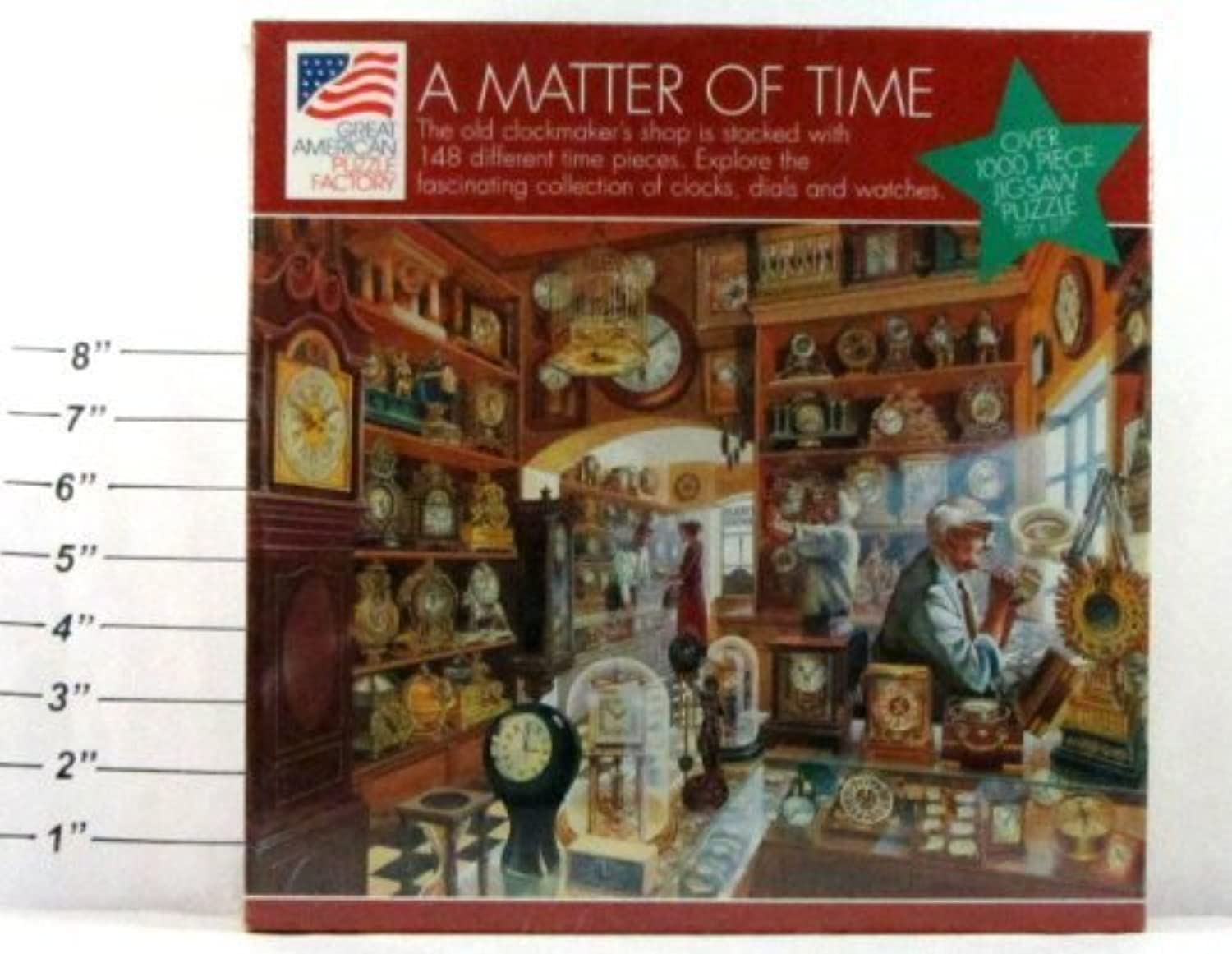 A Matter of Time 1000 Piece Jigsaw Puzzle 20  X 27  by Great American Puzzle Factory