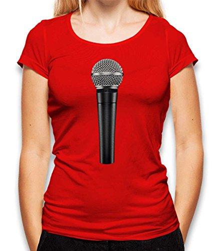 Microphone dames T-shirt - vele kleuren/S-XXL