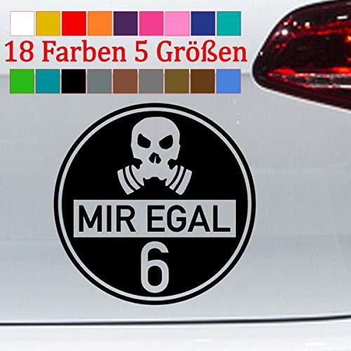 Generic Feinstaubplakette Spaß Aufkleber Diesel VW Skandal Umwelt JDM 18 Farben 5 Größen