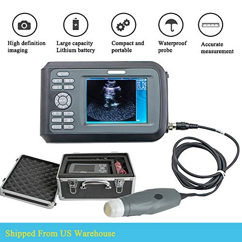 Veterinary WristScan Ultrasound Scanner Machine Handscan for Farm Animals with 3.5MHz Mechanical Sector Probe