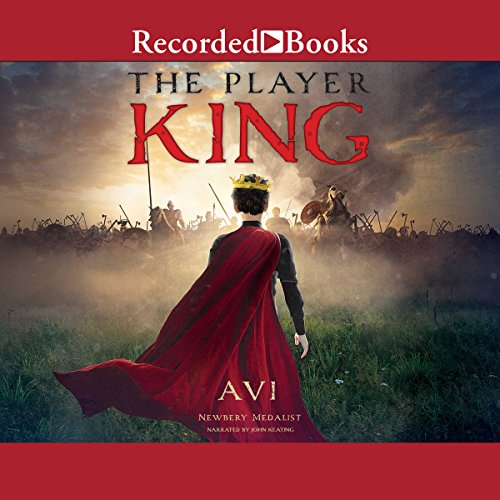 The Player King audiobook cover art