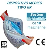 Zoom IMG-1 100 mascherine chirurgiche dispositivo medico