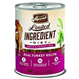 Merrick Grain Free Limited Ingredient Diet Wet Dog Food, 12.7 Oz, 12 Count