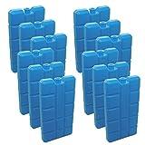6 Stück NEMT Kühlakkus Kühlelemente je 200ml für Kühltasche oder Kühlbox bis 12 h Kühlpack...