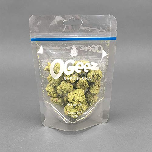 Ogeez Krunch Coco Bud 50g - Knusper-Schokoladenstücke in Weed-Optik - Relax it´s just chocolate