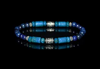 men's larimar bracelet