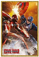 ملصق Marvels Captain America Civil War