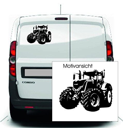 KFZ Aufkleber - 'Fendt 900' Traktoren; Landmaschinen // Autoaufkleber Farben- und Größenwahl (Schwarz - 250 mm x 210 mm)