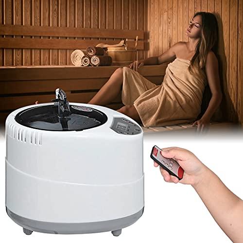 PaNt Sauna De Vapor Portátil 2L Generador De Vapor, Sauna Steamer Pot con Mando a Distancia para SPA hogar Personal Spa y terapia de adelgazamiento, del cuerpo Pérdida de peso Desintoxicación