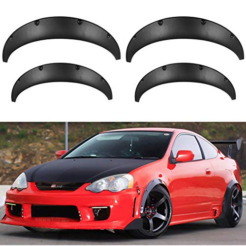 Fender Flares Universal Car Truck Wheel Eyebrow Arch Fender Flares for Audi Ford Nissan Chevrolet(4Pcs 30