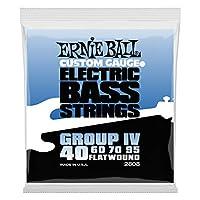 【正規品】 ERNIE BALL 2808 ベース弦 (40-95) FLATWOUND GROUP IV BASS フラットワウンド・グループ4 ベース