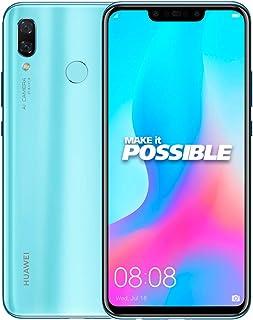 Huawei Nova 3 Dual SIM - 128GB, 4GB RAM, 4G LTE, Blue