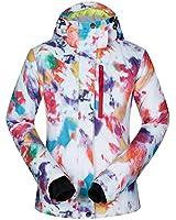 Women's Ski Jacket Outdoor Waterproof Windproof Coat Snowboard Mountain Rain Jacket SJW006 Dreamworld XS