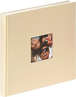 comprar comparacion Walther Design FA-205-H álbum de Fotos Fun, 26 x 25 cm, 40 páginas Blancas, Crema, con el Corte per un Foto