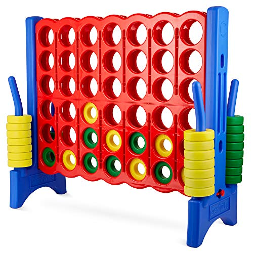 Giant 4 in a Row Connect Game – 4 Feet Wide by...
