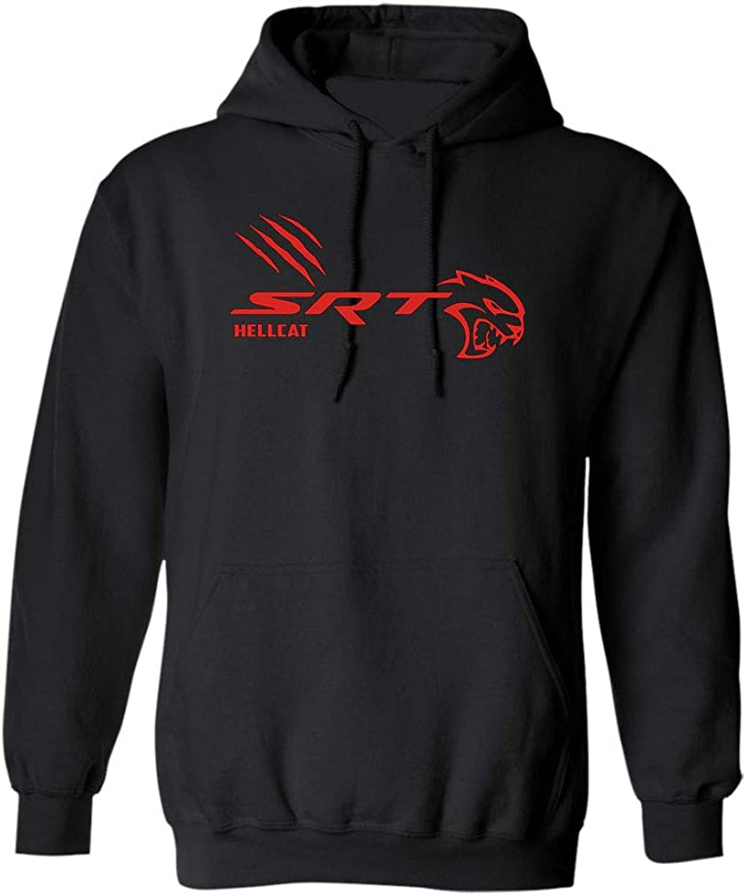 Team Dodge SRT Hell cat Spring new work one after another Scratch T Hellcat Shirt Awesome Gi Cheap 1 Red