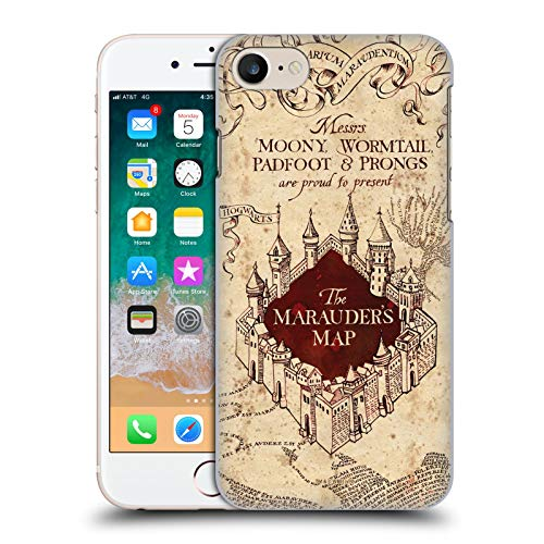 Head Case Designs Ufficiale Harry Potter The Marauder's Map Prisoner of Azkaban II Cover Dura per Parte Posteriore Compatibile con Apple iPhone 7 / iPhone 8 / iPhone SE 2020