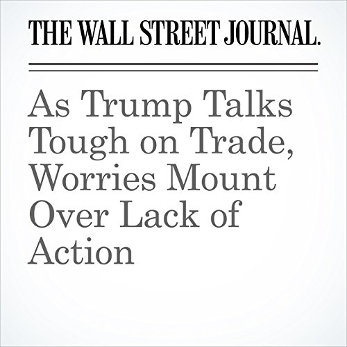 As Trump Talks Tough on Trade, Worries Mount Over Lack of Action copertina