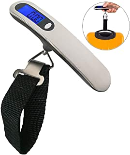 CyberDyer 110 Lbs Digital Luggage Scale with LCD Display for Travel