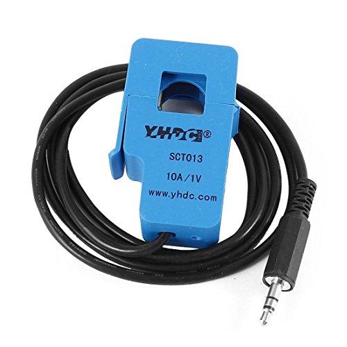 SCT-013-010 de câble de sortie 1M de 3,5 mm de Split-core transformateur de courant 10A 1V