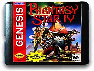 Phantasy Star 4 For 16 Bit Sega Md Game Card For Mega Drive For Genesis Us Pal Version Video Game Console US PAL SHELL