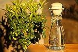 Dekobox Original Zillertaler Wasserkaraffe 1L Rocco inkl. Zirben Zapfen - Zirbenwasser mit wohltuenden Eigenschaften - 6