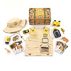 Encourage your child to discover the world around them with the National Geographic Kids Safari Time Dress Up Trunk. Encourage your child to discover the world around them with the National Geographic Kids Safari Time Dress Up Trunk. Includes 17 piec...