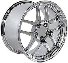 OE Wheels 17 Inch Fits Chevy Camaro Corvette Pontiac Firebird C5 Z06 Style CV04 Chrome 17x9.5 Rim Hollander 5146