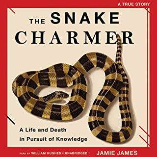 The Snake Charmer audiobook cover art