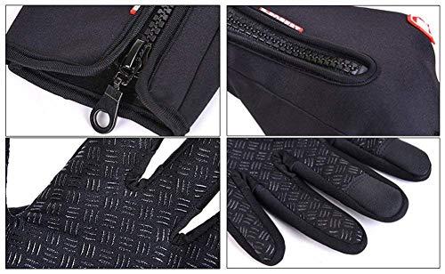 SWAMPLAND Anti-Rutsch Full Finger Fahrradhandschuhe Winddicht Wasserabweisend Touchscreen Handschuhe für Damen und Herren - 6