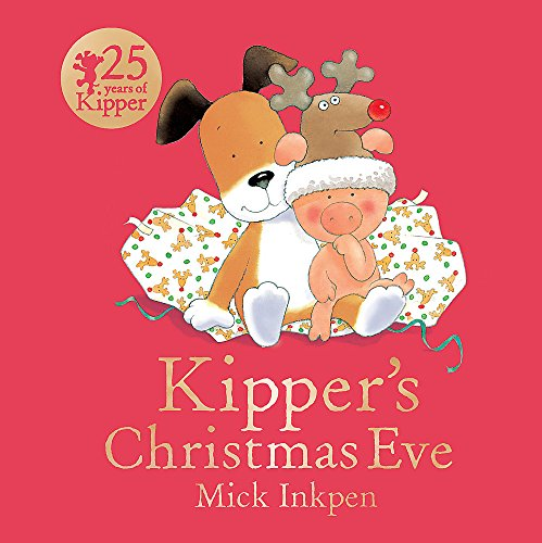 Kipper's Christmas Eve Board Book