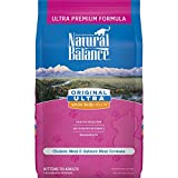 Natural Balance Original Ultra Whole Body Health Dry Cat Food, Chicken Meal & Salmon Meal Formula, 6 Pounds
